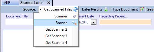 Scanning documents 1