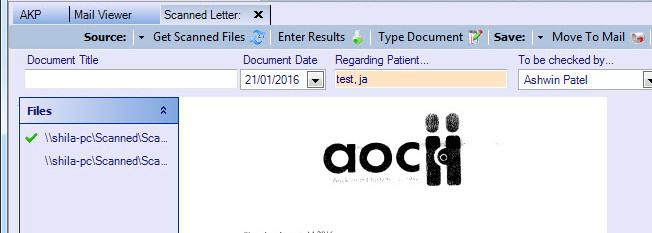 Scanning documents 2